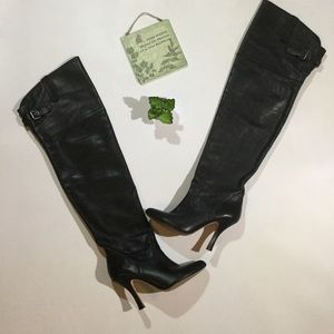 Dolce Vita Size 7 Over The Knee High Heels Boots